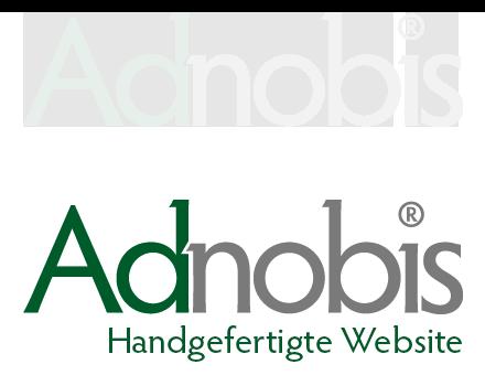 Handgefertigte Website von Adnobis Werbeagentur